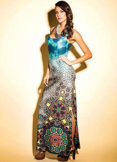 vestido-estampado-longo-azul-3.jpg (600×830)