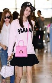 SNSD Yoona with Delvaux Brillant bag
