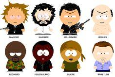 south park characters! - Prison Break Fan Art (805599) - Fanpop