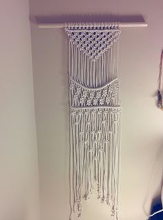 Macrame Wall Hanging by freefille on Etsy