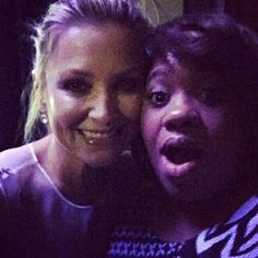 Jessica Capshaw and Chandra Wilson