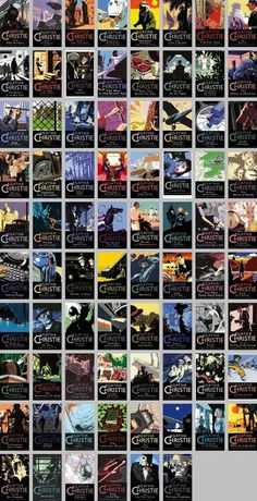 Agatha Christie collections by HarperCollins.