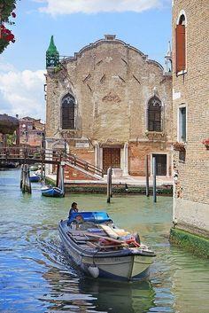 Venezia:Campo de l'Abazia, sestiere di Cannaregio - Venezia