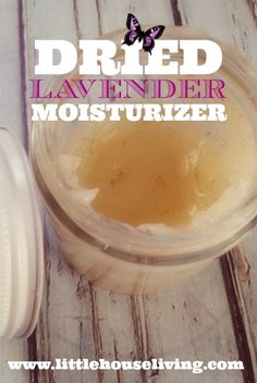 Lavender Body Lotion Recipe. Make scented lotion with your own herbs!