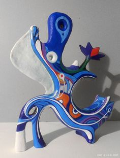 "(1) New paper mache sculpture, ""A.K.C."" | Art I like | Pinterest"