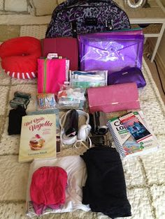 Confessions of a Beauty Addict: Travel Organisation: What's In My Carry On?