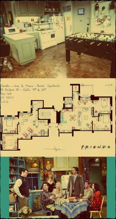 54 ideas apartment layout friends for 2019 Friends Tv Show, Serie Friends, Friends Cast, Friends Episodes, Friends Moments, Friends In Love, Friends Forever, Chandler Friends, Friends Tv Quotes
