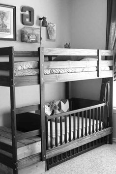 Best Swap A Crib For The Bottom Bed On The Ikea Mydal Bunk Bed 640 x 480