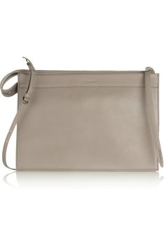 3.1 Phillip Lim | Depeche large leather clutch | NET-A-PORTER.COM