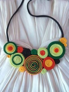 colier toamna verde Crafting, Boutique, Handmade, Inspiration, Accessories, Jewelry, Strands, Green, Jewels