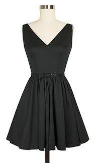 Simple chic and black. perfect. Trashy Diva Ballerina Dress cg-dball1-blkstretch