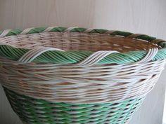 21) Obtáčená zavírka - Pedig a košíky Laundry Basket, Wicker, Organization, Basket Ideas, Pattern, Home Decor, Hampers, Getting Organized, Organisation