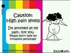 High pain levels
