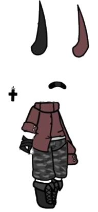 #gachalife #gacha #life #aesthetic #devil #black #red #gachalifeoc #gachalifeoutfit #gachaoc #gachaoutfit #freetoedit #remixit Manga Clothes, Drawing Clothes, Kawaii Drawings, Cute Drawings, Msp Vip, Cool Pictures To Draw, Anime Drawing Styles, Clothing Sketches, Pony Drawing