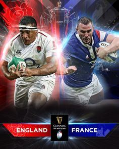 2019 6 Nations Championship ~ Round 2 ~ England Vs France. England Vs France, Go Bokke, France Rugby, Hot Rugby Players, Six Nations, Guinness, Shit Happens