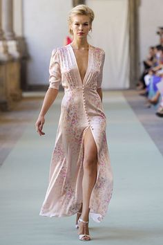 Sexy light pink dress