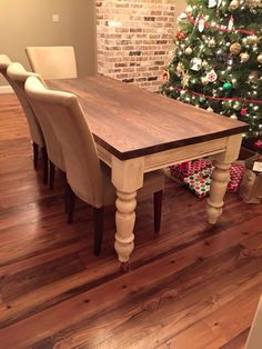 Love this table!  https://m.facebook.com/Farmhousespecialties?refsrc=https%3A%2F%2Fwww.facebook.com%2FFarmhousespecialties&refid=9&_rdr#_=_