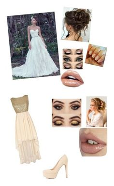 """Wedding"" by serenamaie on Polyvore featuring Maggie Sottero and Charlotte Russe"