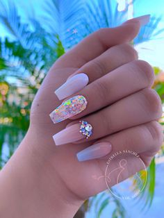 How to succeed in your manicure? - My Nails Sassy Nails, Minx Nails, Summer Acrylic Nails, Best Acrylic Nails, Dope Nails, Swag Nails, Stylish Nails, Trendy Nails, Swarovski Nails