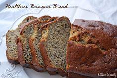 healthier banana bread (using applesauce)
