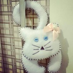 Porta Maçaneta Cat <3