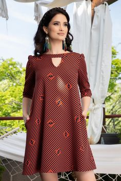 Rochii Romania is under construction Cold Shoulder Dress, Casual, Dresses, Fashion, African Dress, Vestidos, Moda, Gowns, Fasion