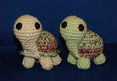 Ravelry: Pete and Repeat Tortoises pattern by Stephanie Osborne