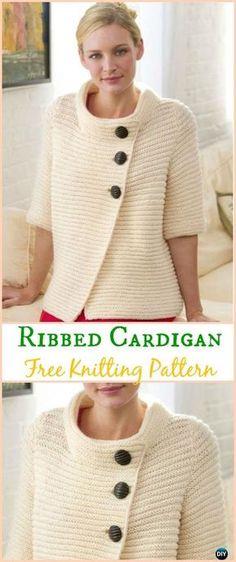 3539ff1a6c7a2a Knit Women Cardigan Sweater Coat Free Patterns. Crochet BoleroCrochet  CardiganCrochet Pullover PatternKnit ...