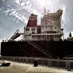 Large boat!