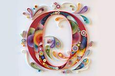 """O"" monogramma 25x25cm"
