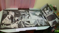 「Guernica」by Picasso.