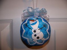 Disney Frozen/Disney Frozen Olaf Quilted by BayCountryCreations