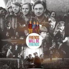 Friends will be friends.
