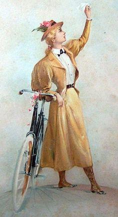 Vintage bicycle museum