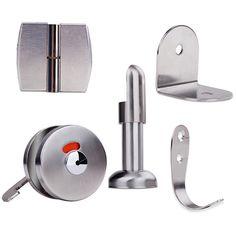 Shenzhen Taiya Decorative Materials Co. Cubicle Accessories, Toilet Cubicle, Shenzhen, Lockers, Hardware, Stainless Steel, Decor, Decoration, Locker