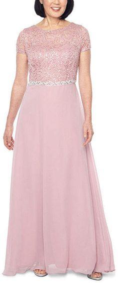 Jackie Jon Short Sleeve Embellished Evening Gown Spandex Fabric, Budget Wedding, Dress Backs, Evening Gowns, Short Sleeves, Weddings, Dresses, Gown Dress, Evening Dresses