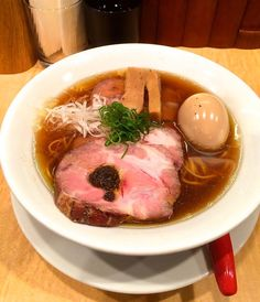 « Amazing! The first ramen restaurant ever, anywhere, to be awarded a Michelin star…  Japanese Soba Noodles Tsuta, in Sugamo.  This is the shoyu ramen — and… »