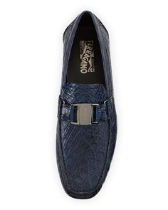 Shop men's loafers and slip-on shoes at Neiman Marcus. Make getting ready as easy as possible with these soft but sturdy loafers in all styles. Driving Shoes Men, Car Shoe, Walking Barefoot, Men Store, Fashion Watches, Crocodile, Slip On Shoes, Salvatore Ferragamo, Designer Shoes