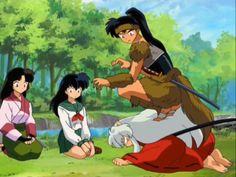 I love Koga and Inuyasha.