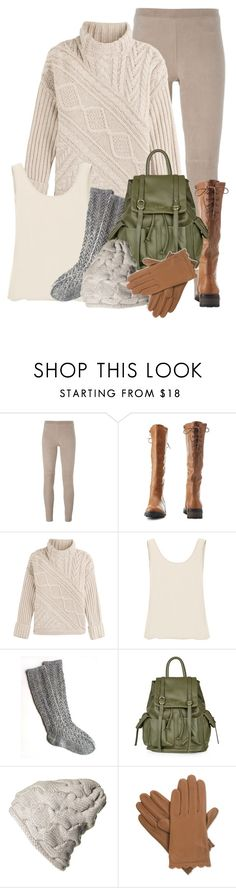 """""""Cozy as a Fisherman's Sweater"""" by everythingkaren ❤ liked on Polyvore featuring Steffen Schraut, Charlotte Russe, Polo Ralph Lauren, Glamorous, Topshop and Isotoner"""