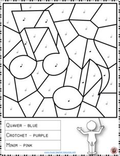 Music Color by Music Note Coloring Page: Free Music Activity Music lessons Music Activities For Kids, Music For Kids, Music Education Games, Music Theory Worksheets, Middle School Music, Music Crafts, Piano Teaching, Elementary Music, Music Classroom