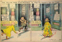 *Yellow Kid comic strip--Richard Outcault--page 66