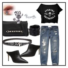 """""""rock"""" by vikiol on Polyvore featuring Bettye Muller, Abercrombie & Fitch, Chicnova Fashion, Urban Originals, Saachi and Bling Jewelry"""