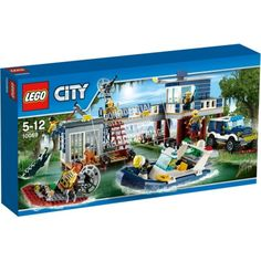 Swamp Police Station (new set for What cam wants for birthday.anything lego swamp Legos, Lego City Police Station, Lego Boards, All Lego, Toys R Us, Kids Toys, Lego Pieces, Lego Movie, Lego Creations