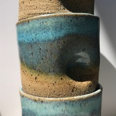 Dimpled tumblers  #pottery #wheel #throwing #ceramic #ceramics #maker #designer #craftsmanship #handmade #makersgonnamake #kinfolk #tableware #artisan #slowliving