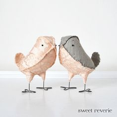 Love Birds Wedding Cake Toppers Pale Blush Pink by asweetreverie, $55.00