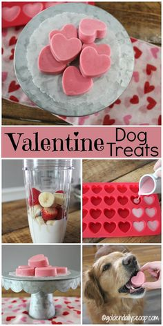 Boxer Dog And Puppies Homemade Valentine Dog Treats.Boxer Dog And Puppies Homemade Valentine Dog Treats Puppy Treats, Diy Dog Treats, Healthy Dog Treats, Dog Biscuit Recipes, Dog Treat Recipes, Dog Food Recipes, Diy Pour Chien, Diy Pet, Frozen Dog Treats