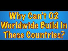 Why Can't O2 Worldwide Build Distribution Centers In These Countries