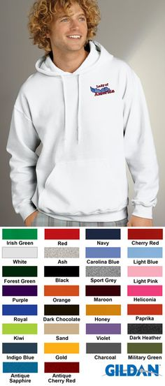 #gildan #heavyweight #hooded #corporate #sweatshirts $21.38 Features: 50% cotton, 50% polyester; double-needle stitching; quarter-turned to eliminate center crease; set-in sleeves; 1x1 athletic rib with Lycra; double-lined hood with drawstring; pouch pocket; air-jet-spun yarn for softer feel and no-pill; 7.75-ounce.   http://ezcorporateclothing.com/custom/105-Hooded-Sweatshirts/933-Gildan-Heavyweight-Blend-Hooded-Sweatshirt/