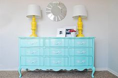 maybe she'd like her dresser this color?